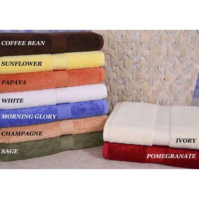 Calcot Ltd. All American Bath Cotton Line Towel (Set of 3)