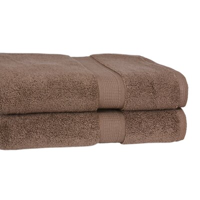 100% Supima Zero-Twist Cotton 2-Piece Oversized Bath Sheet/Towel Set