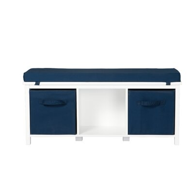 OS Home & Office Furniture Cushioned Storage Bench | Wayfair