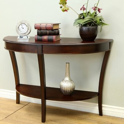 Wood Shelf Console Table | Wayfair