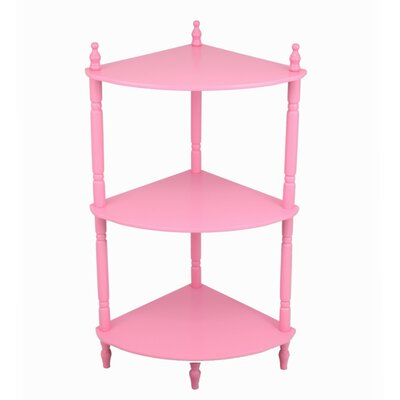 3 Tier Corner Shelves