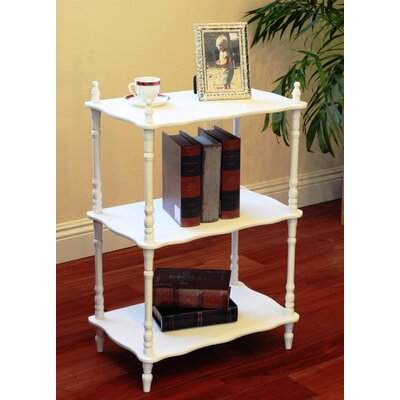 Rectangular 3-Tier Shelf