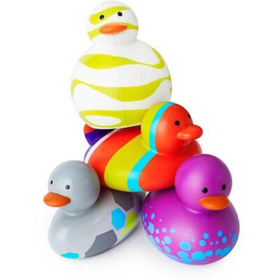 Boon Odd Duck (4 Pack) in Assorted Purple