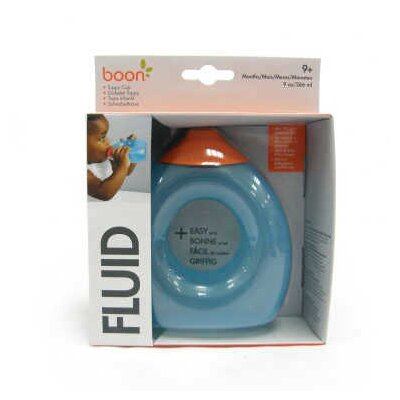 Boon Fluid Toddler Cup in Blue Raspberry / Tangerine