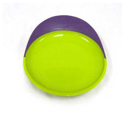 Boon Catch Bowl with Spill Catcher in Kiwi / Grape