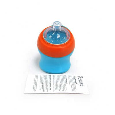 Boon Swig Ergo Sippy Cup Spout Short in Tangerine / Blue Raspberry