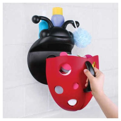 Boon Bug Pod Bath Toy Scoop in Red