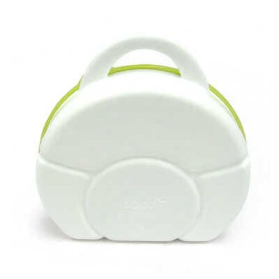 Boon Cargo Snack Box in White / Green