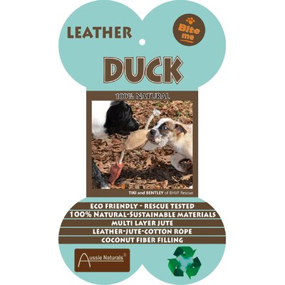 ABO Gear Jute Duck Dog Toy