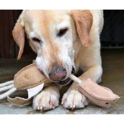 ABO Gear Jute Pheasant Dog Toy