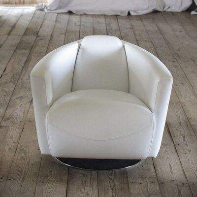 Creative Co-Op Cosmopolitan Swivel Arm Chair