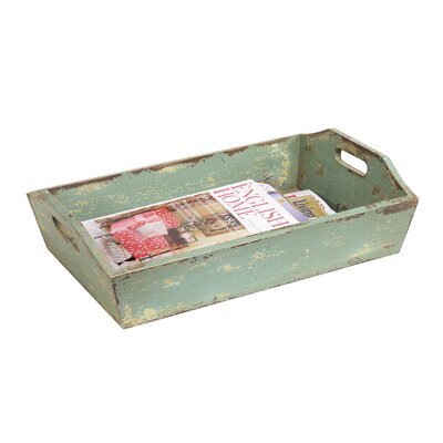 Creative Co Op Painted Wood Tray With Handle Amp Reviews