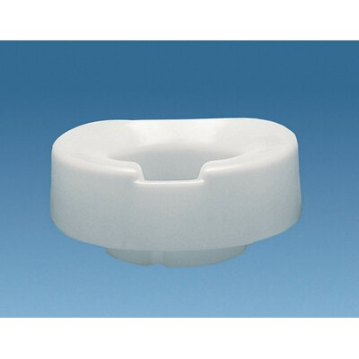 """Ableware Tall-Ette Contoured 4"""" Elevated Toilet Seat"""