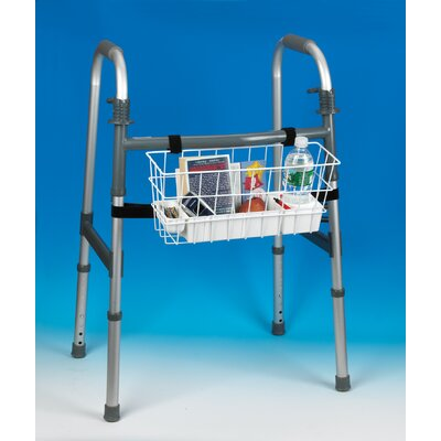 Ableware Economy Walker Basket with Hook-and-Loop Fasteners