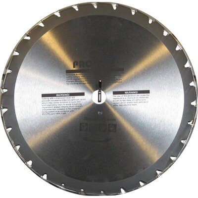 "Prostar Equipment 14"" 30 Teeth Wood Cutting Blade"