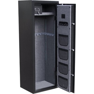 Honeywell Executive/ Long Gun Safe in Brushed Aluminum