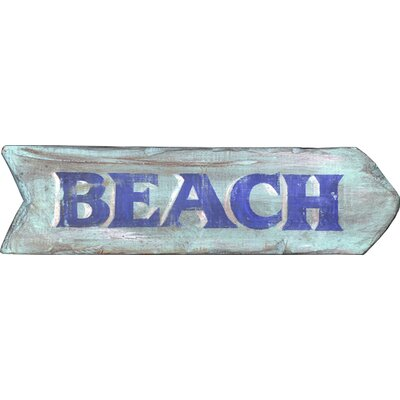Vintage Signs Vintage Beach Sign