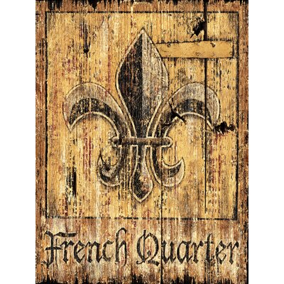 French Quarter Vintage Sign