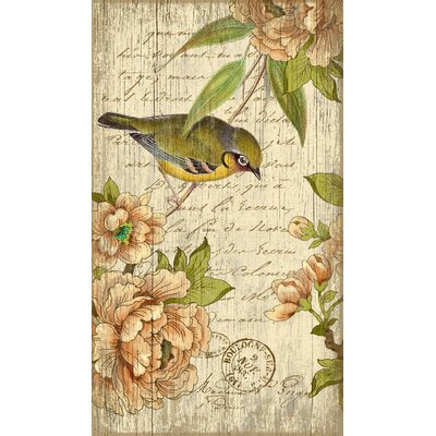 Susanne Nicoll Left Bird Wall Art