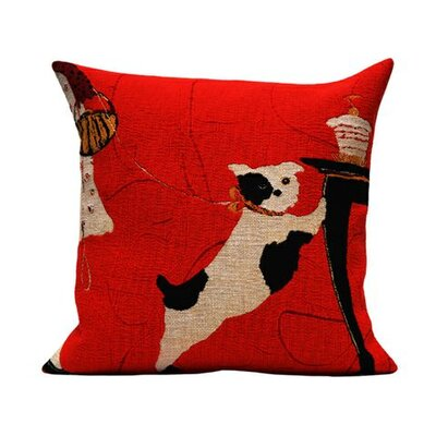 Jules Pansu Rack Tapestry Cotton Twill Pillow