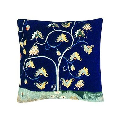 La Terre Tapestry Cotton Twill Pillow
