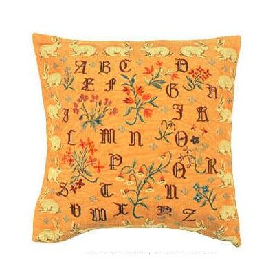 Jules Pansu French Tapestry Dagobert Cotton Pillow