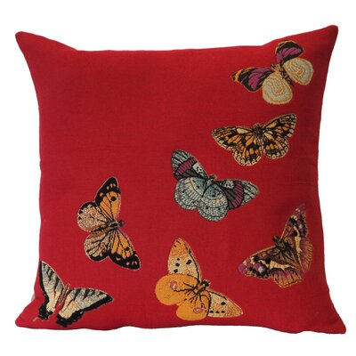 Jules Pansu French Tapestry Envol Cotton Pillow