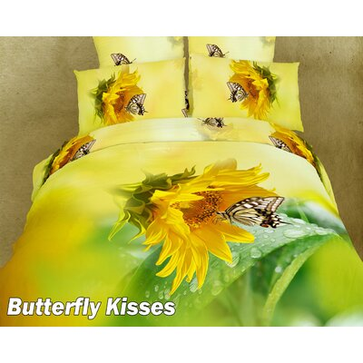 Dolce Mela Butterfly Kisses Duvet Cover Set