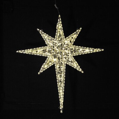 "Holiday Lighting Specialists 72"" Moravian Star in Warm White"