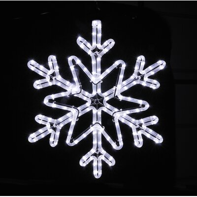 Star Snowflake Rope Light