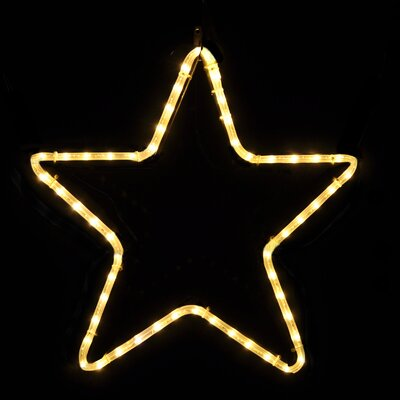 Small 5 Point Star in LED Lights