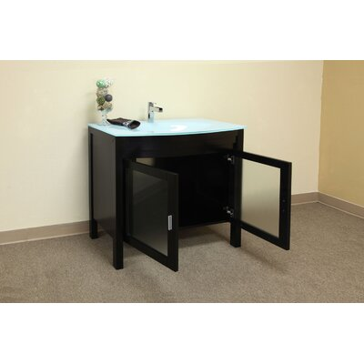 "Bellaterra Home Burke 39.4"" Single Vanity Set"