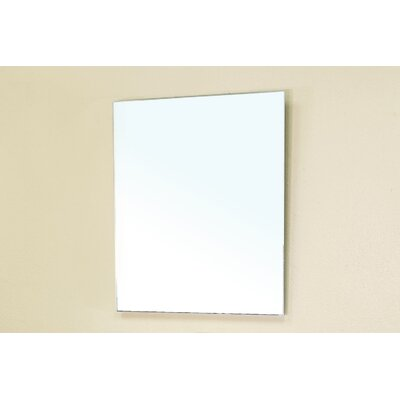 Bellaterra Home Graham Beveled Bathroom Mirror