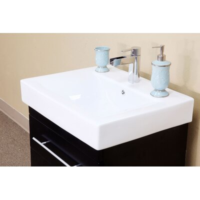 "Bellaterra Home Pickering 24.25"" Single Vanity Set"