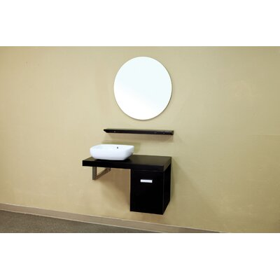 "Bellaterra Home Belknap 35.4"" Single Vanity Set"