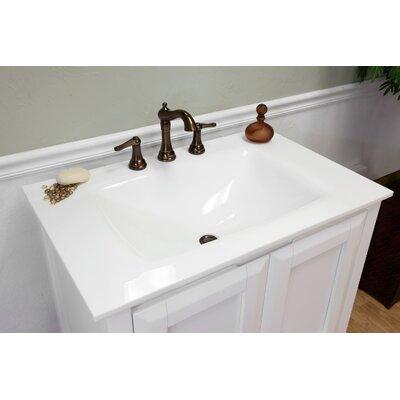 "Bellaterra Home Fairbanks 34"" Single Bathroom Vanity Set"