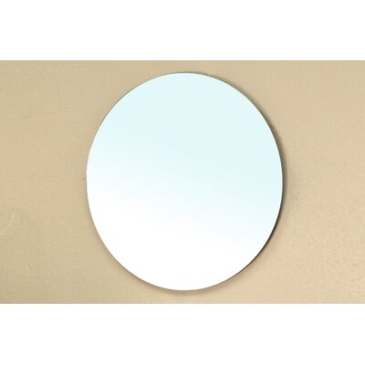 Chandler Round Beveled Bathroom Mirror