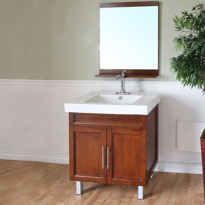 "Bellaterra Home Chapman 32"" Single Bathroom Vanity Set"
