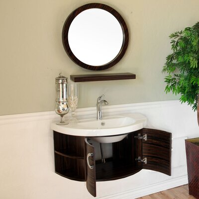 "Bellaterra Home Huntington 34"" Single Vanity Set"