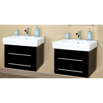 "Bellaterra Home Pickering 48.5"" Double Vanity Set"