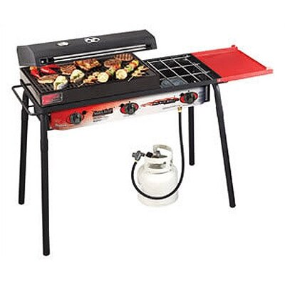 Camp Chef Big Gas Grill 3 Burner Cooking Range