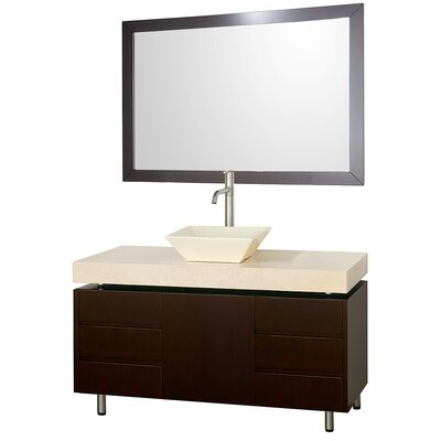Wyndham Collection Malibu Bathroom Vanity Set