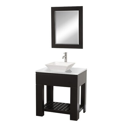 "Wyndham Collection Zen II 30"" Bathroom Vanity Set"