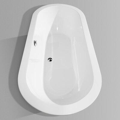 """Wyndham Collection Soho 68"""" x 31"""" Bathtub"""