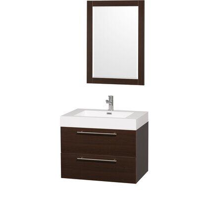 "Wyndham Collection Amare 29"" Single Bathroom Vanity Set"