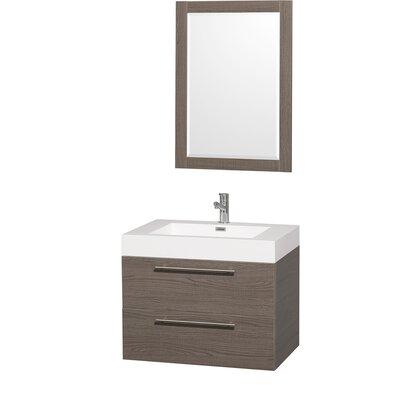 "Wyndham Collection Amare 29"" Single Bathroom Vanity Set"
