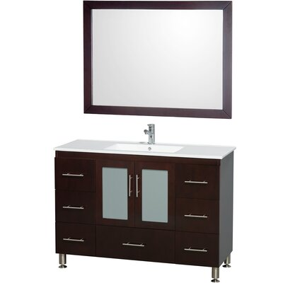 Wyndham Collection Katy Single Bathroom Vanity Set