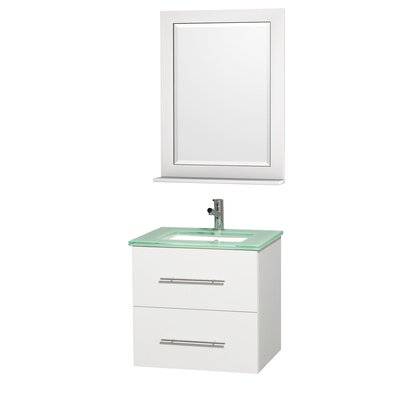 "Wyndham Collection Centra 24"" Single Bathroom Vanity Set"