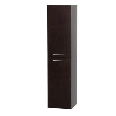 Wyndham Collection Bailey Wall Mount Storage Cabinet
