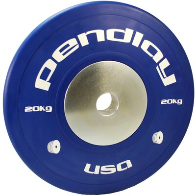 Pendlay 20kg Elite Color Bumper Plates (Set of 2)